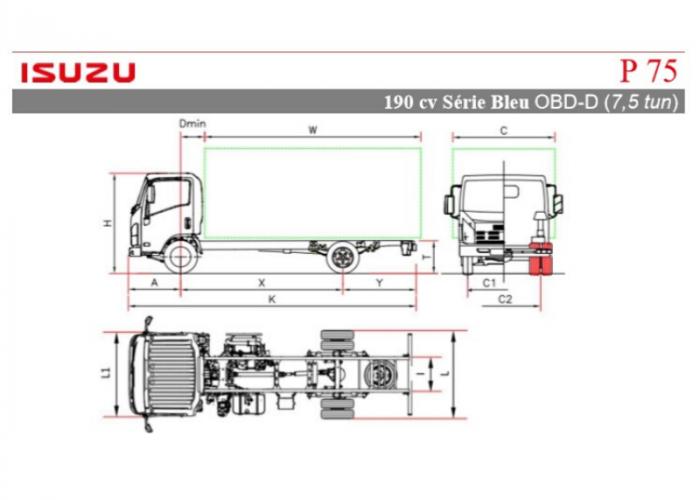 Katalóg Isuzu P75 190 hp