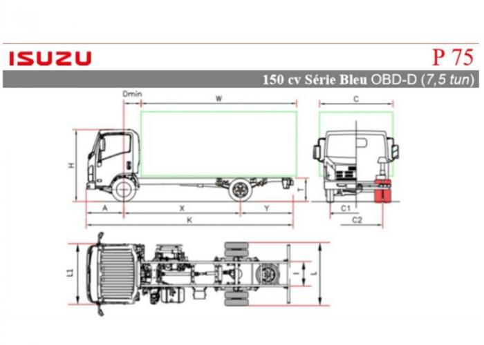 Katalóg Isuzu P75 150 hp