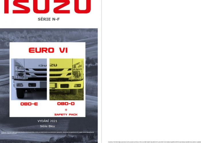 Katalóg Produktu Řada N - F Verze Euro VI OBD-D Safety Pack ODD-E